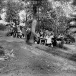 Pabst Park beer garden, Milwaukee, 1903