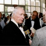 Walter Annenberg interviewed after announcing his donation to the Peddie School, 1993