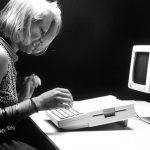 Promotional photo of Apple IIC