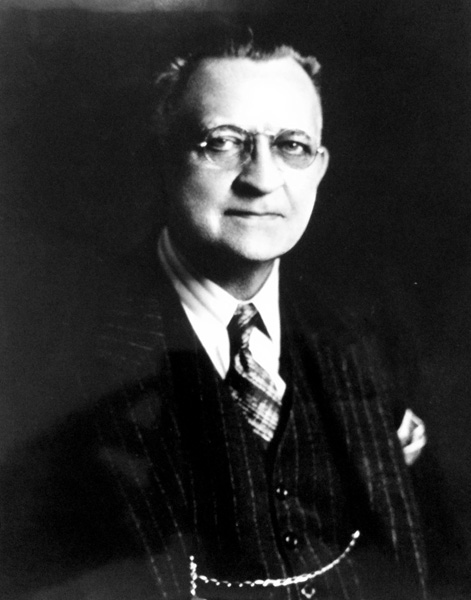 Portrait of Herman DeVry, ca. 1913