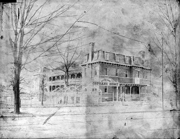 Lutheran Orphans' Home, Germantown, Philadelphia, Pennsylvania