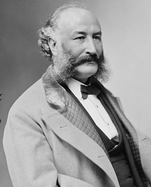Adolph Sutro portrait, c. 1870s