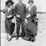 Albert Lasker with his Wife Flora and Daughter Mary