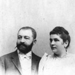 Bernhard and Johanna Beinecke, mid-1880s