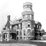 Arden, Victor Bloede's house, at Eden Terrace, in Catonsville, MD