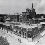 Anheuser-Busch brewing plant in St. Louis, late nineteenth century